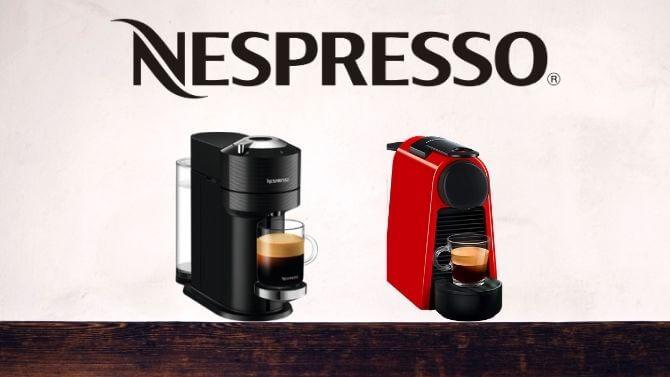 ネスプレッソのコーヒーメーカー