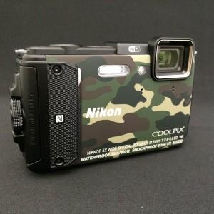 Nikon AW130 前面部