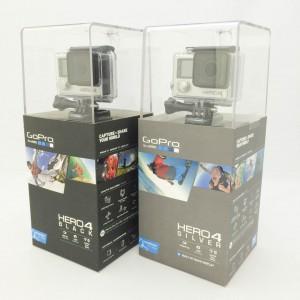 GoPro HERO4 シルバー&ブラック パッケージ比較