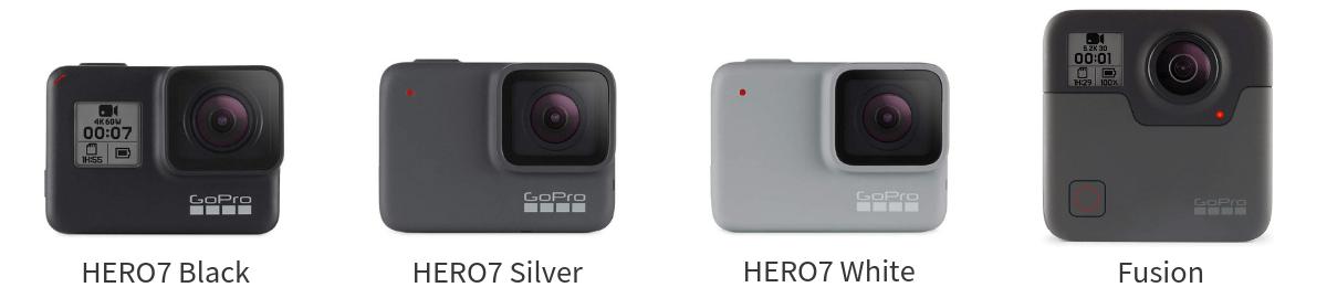 GoPro HEROシリーズ 2018