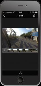 GoProプレビュー画面