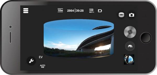 PIXPRO SP360 プレビュー画面