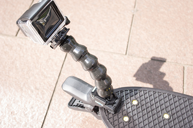 GoPro スケートボード