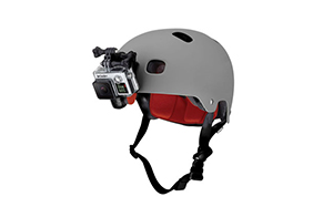 ヘルメットフロントマウント