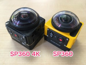 SP360 4KとSP360