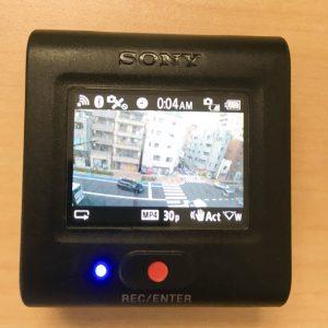 FDR-X3000R ライブビューリモコン ライブビュー使用時