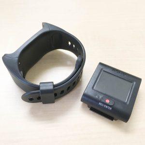 FDR-X3000R リモコンとバンド