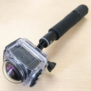 SP360 4K 防水ケース取り付け