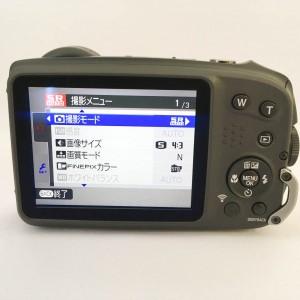 富士フィルム FinePix XP90 液晶