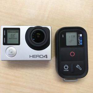 GoPro スマートリモート 同期完了