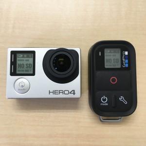 GoPro スマートリモート 起動準備完了