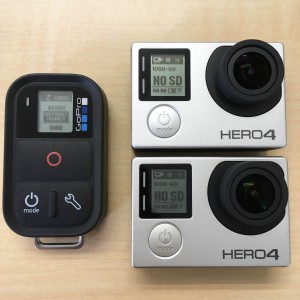 GoPro スマートリモート 2台同時ペアリング