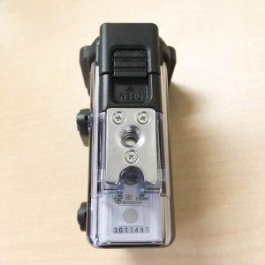 FDR-X3000R ハウジング底面