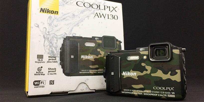 アウトドアで活躍する機能が満載!防水カメラ COOLPIX AW130をレビュー