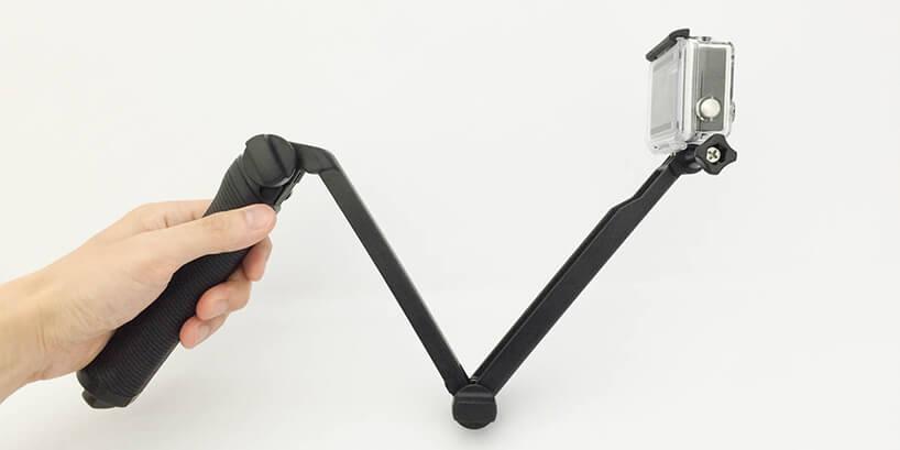 GoProの超定番「3wayマウント」の使い方!難しい折り畳み方も分かりやすく解説
