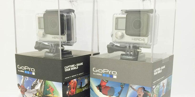 GoPro HERO4 ブラック&シルバーの違いまとめ
