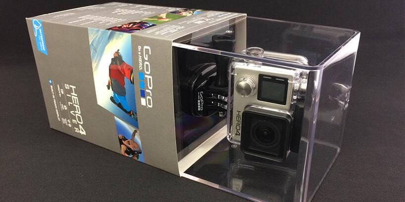 GoPro HERO4シルバー 開封から撮影まで