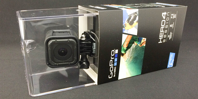 GoPro HERO4 Session開封から撮影まで