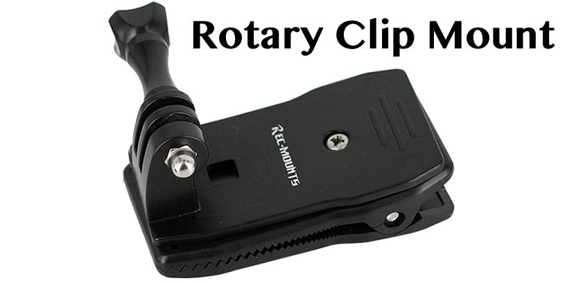 GoProのサードパーティ製マウントが熱い!Rotary Clip Mount(回転式クリップマウント)を使ってみた