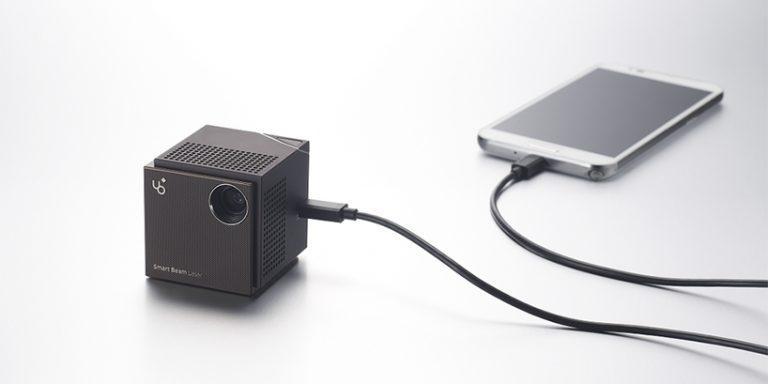未来すぎるモバイルプロジェクター、Smart Beam Laserの紹介とレビュー