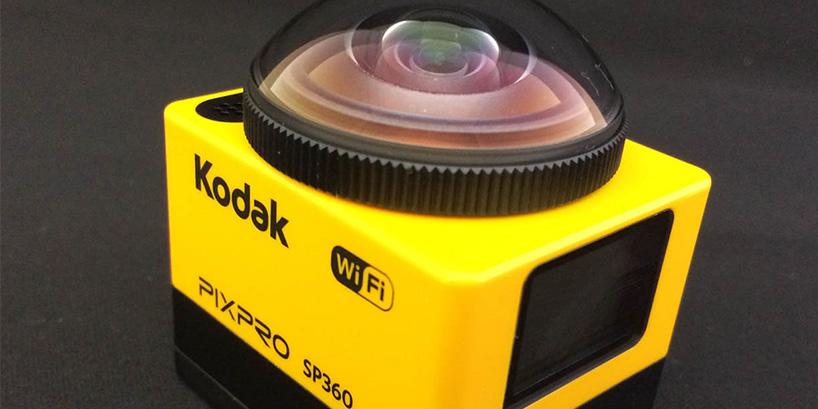 Kodak SP360 開封から撮影までを写真付レビュー