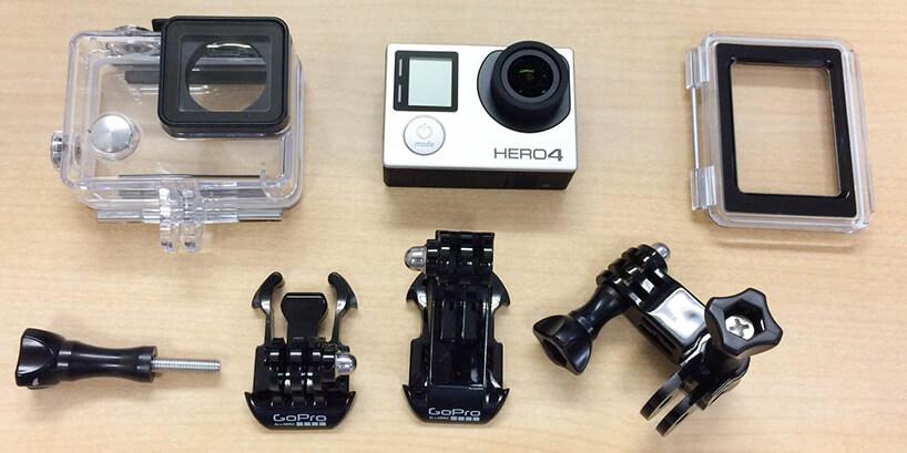 ウェアラブルカメラの定番GoPro。その中でも代表作とも言えるHERO4ですが、一般的なカメラやビデオカメラとは全く異なるその作りに、最初戸惑う人は少なくないはず。