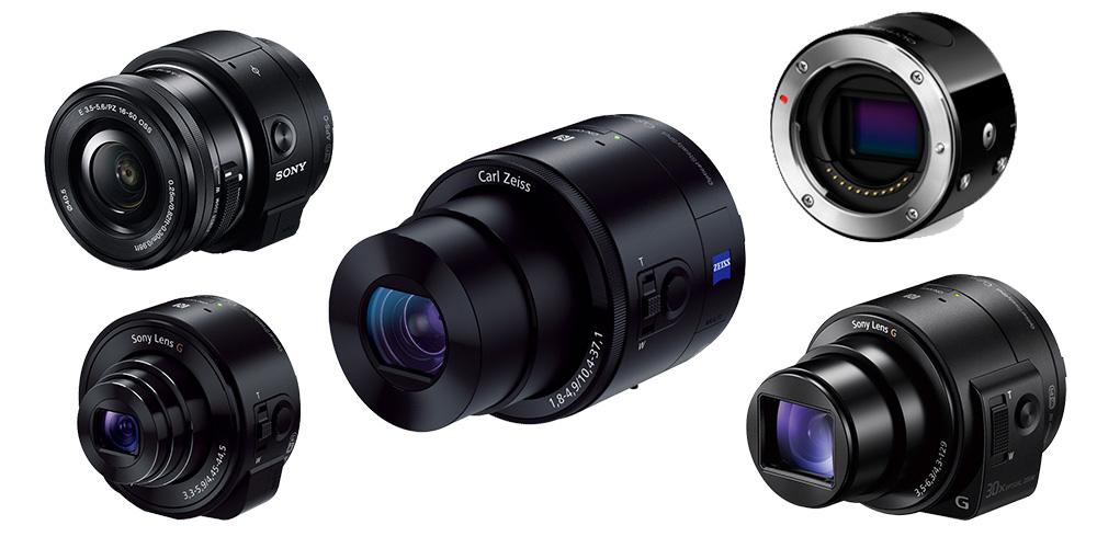 レンズスタイルカメラ5機種のウリとスペックを比較!