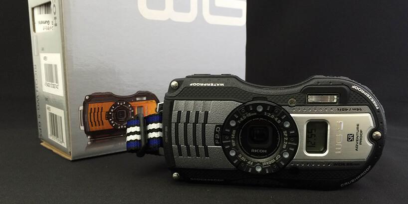 RICOHの防水カメラ WG-5 GPSのアウトドアで役立つ機能