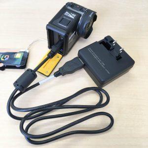 KeyMission170 充電スタイル