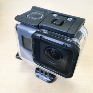 GoPro HERO5 Black Super Suit 装着図