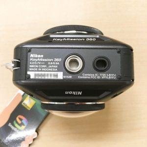 Nikon KeyMission360 底面部