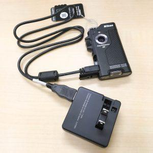 Keymission80 充電スタイル