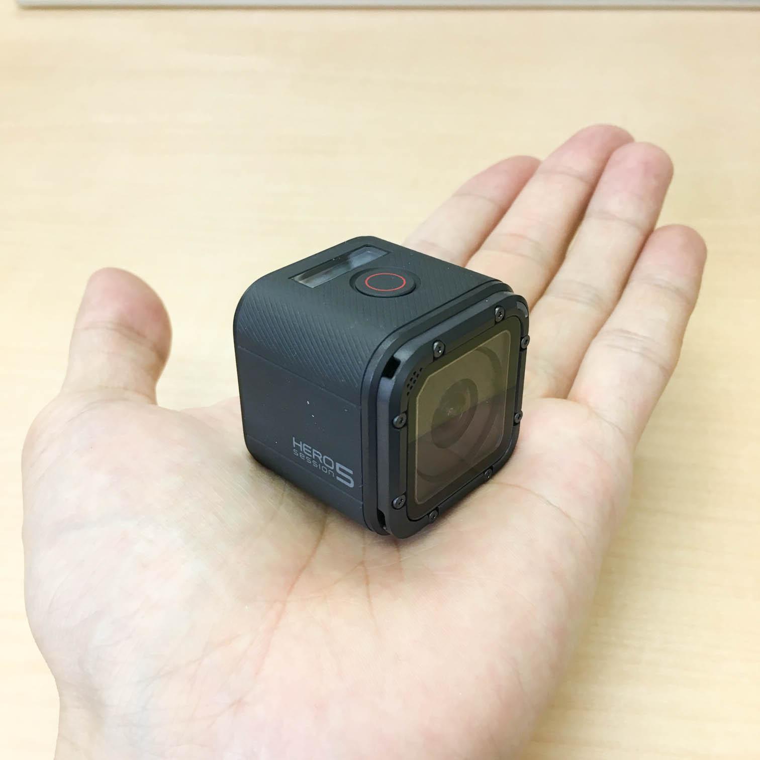 GoPro HERO5 Session 本体のサイズ感