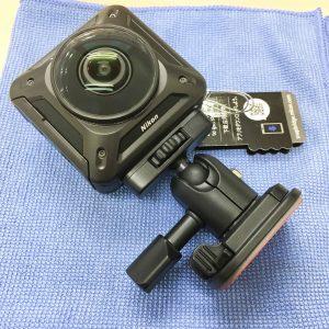 Nikon KeyMission360 マウント