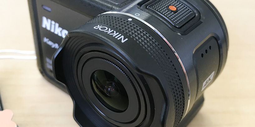 ニコン製アクションカメラ、KeyMission170を実機レビュー!