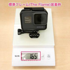 GoPro HERO5 Black The Flame 装着時質量
