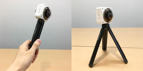 Kodak 4KVR360 簡易三脚使い方