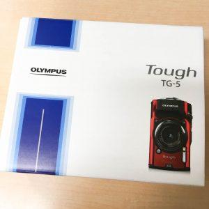 オリンパスTough TG-5 箱