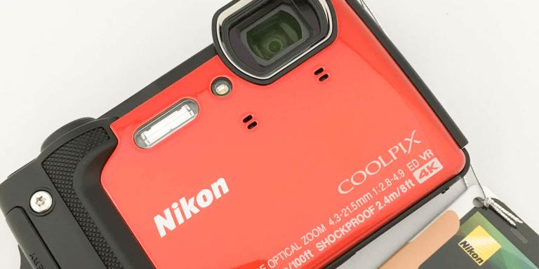 ニコンの新防水カメラ、COOLPIX W300の紹介&レビュー!