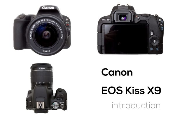 Kiss canon x9 eos