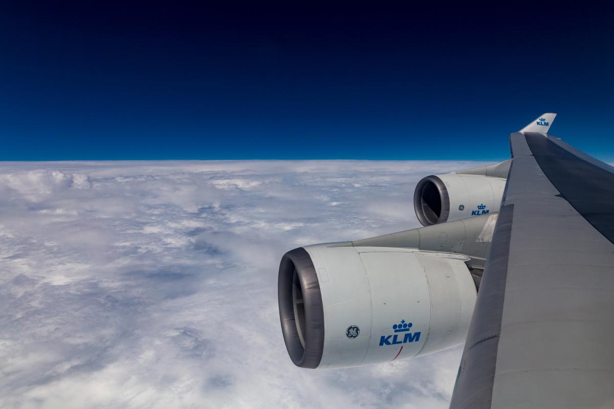 KL 747-400 in Flihjt