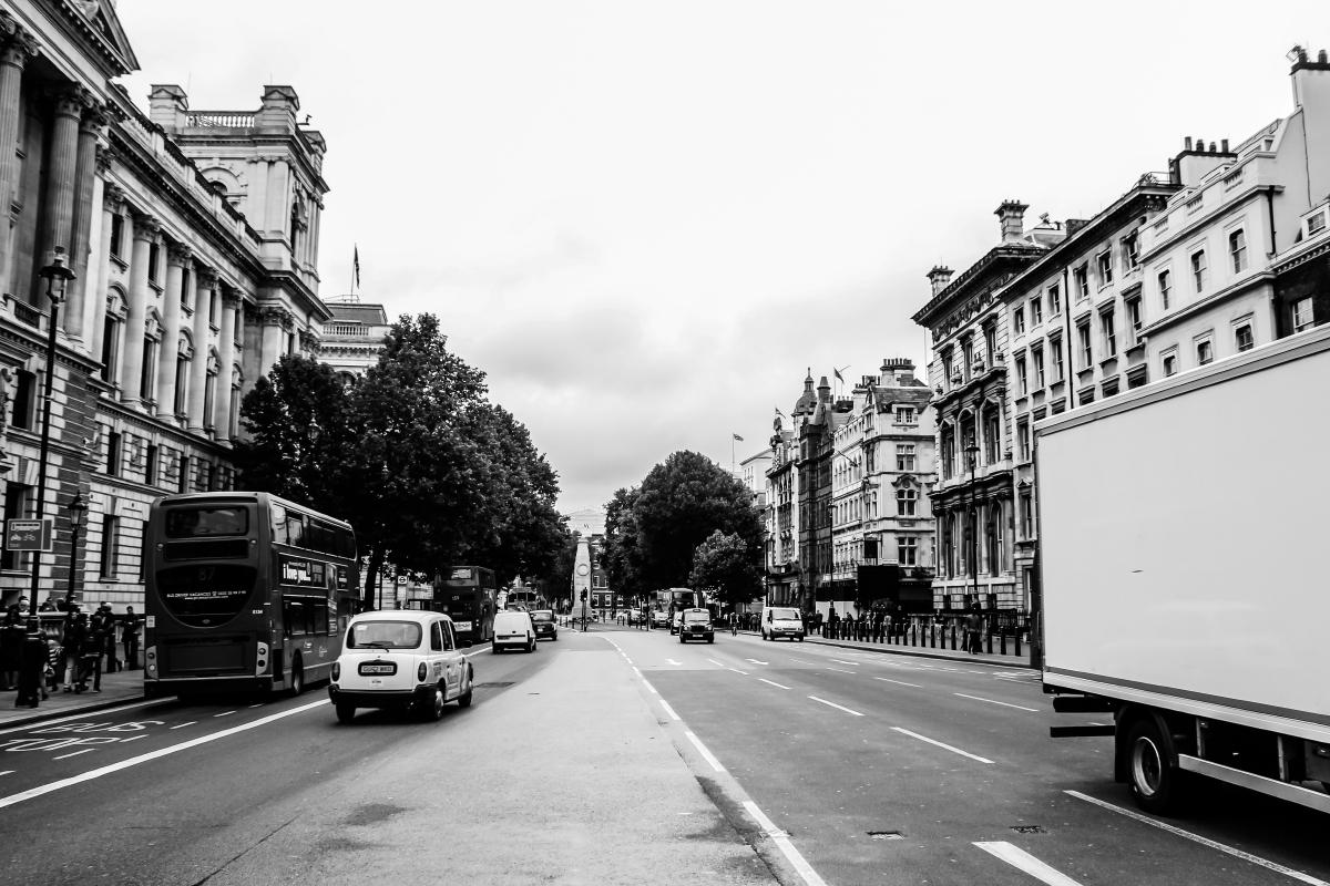 ロンドン 街並