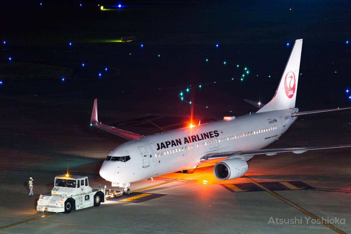 JL 737-800 HND
