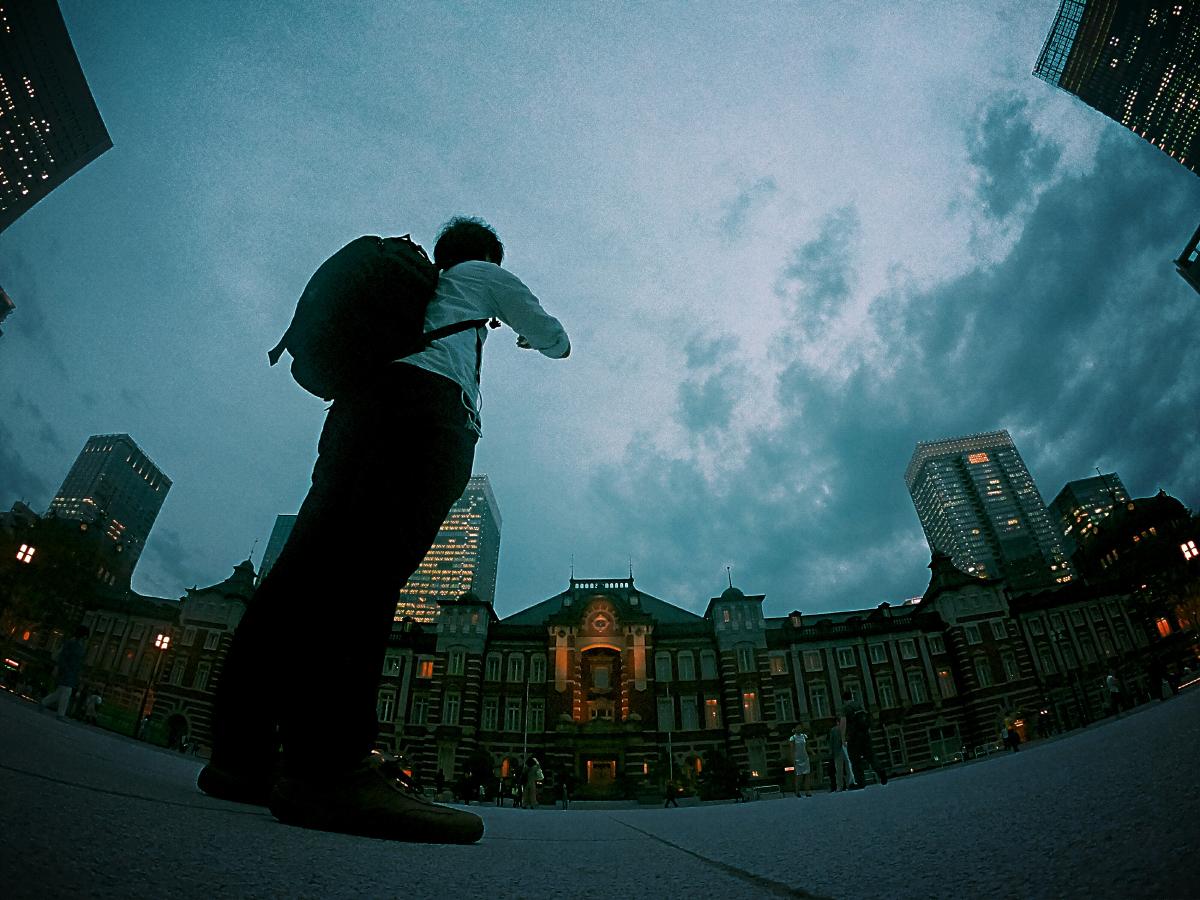 GoPro 自撮り