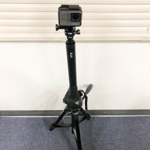 GoPro El Grande 三脚と接続
