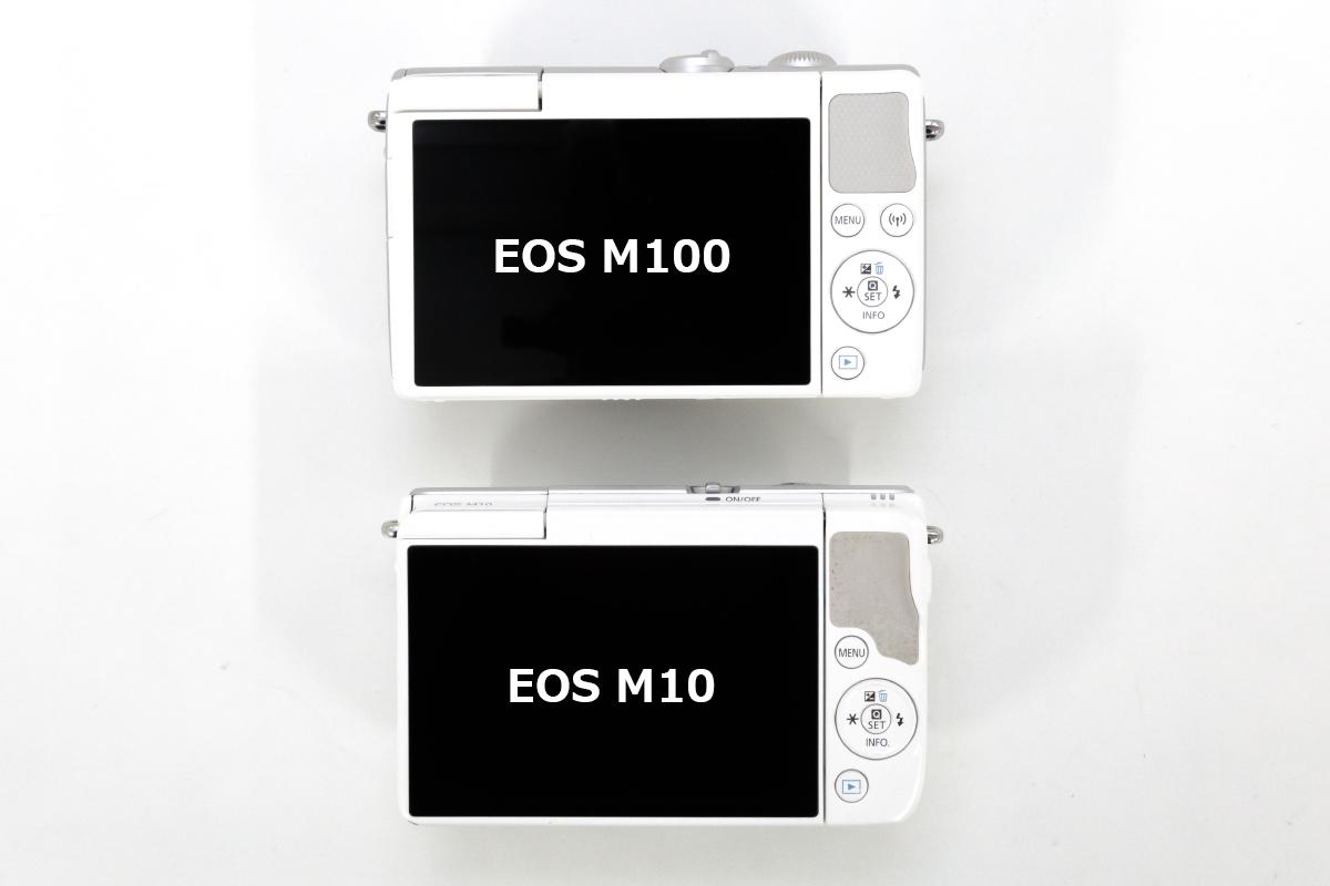 EOS M100 ボタン配置