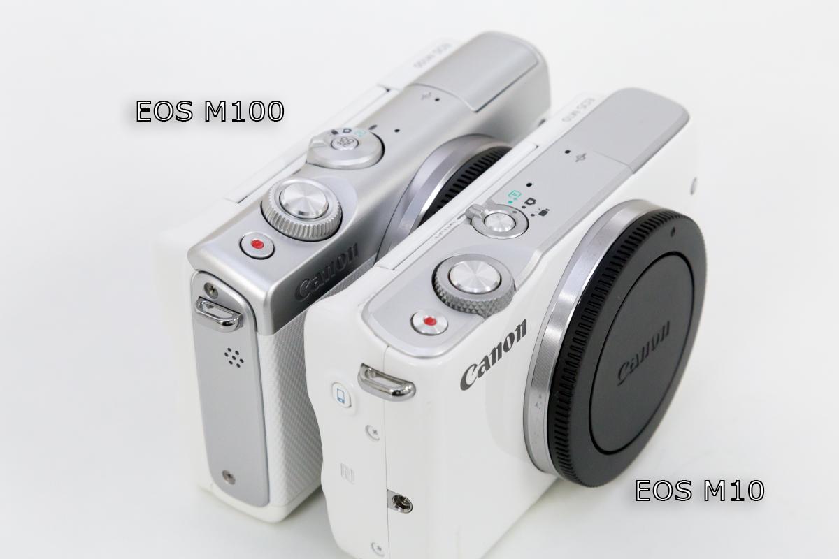 EOS M100 シャッターボタン