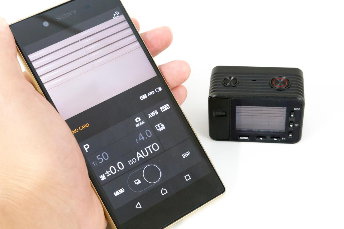 RX0 Wi-Fi接続