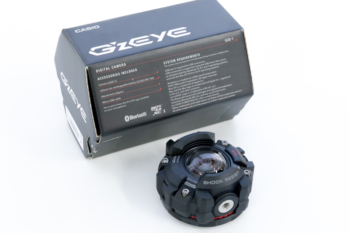 CASIO GZE-1