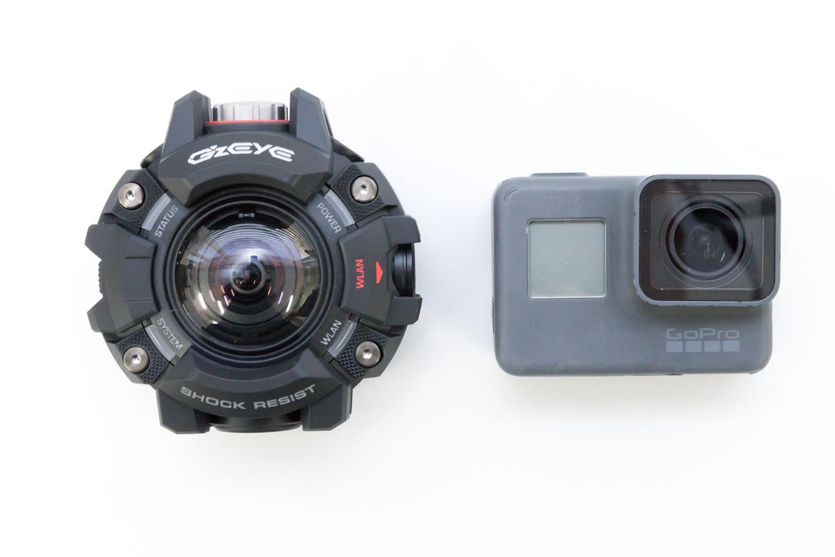 GZE-1 GoPro 比較
